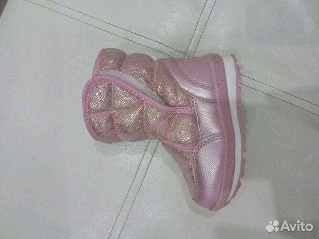 Продам зимние сапожки на девочку р.22 89273827666 купить 3
