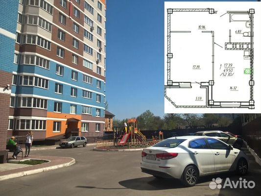 89092430000 1-к квартира, 49 м², 12/17 эт.