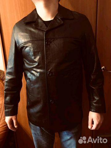 975b7905 Кожаная куртка-френч оригинал,Metropolitan,Италия купить в Москве на ...
