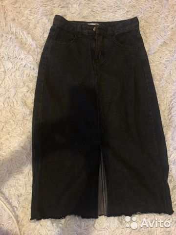 Юбка джинсовая 89085953981 купить 1