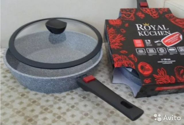 купить сковородки royal kuchen авито