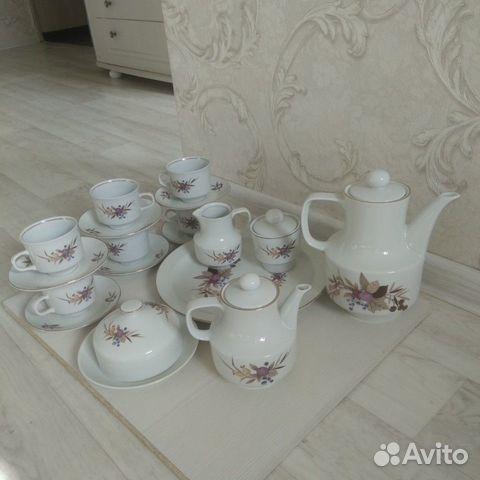Чайный сервиз на 6 персон. Кольдиц. Гдр 89128807271 купить 3