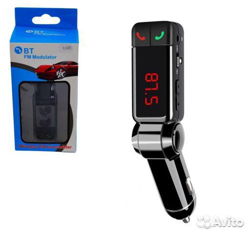 FM модулятор BT S16 с мр3 плеером автомобильный 89132023910 купить 1