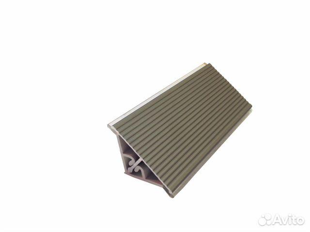 Плинтус алюминиевый, бронза, 3,05м  89534026602 купить 1