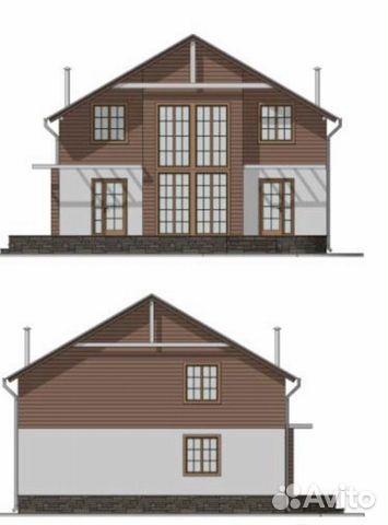 Коттедж 128 м² на участке 10 сот.  89201150483 купить 4
