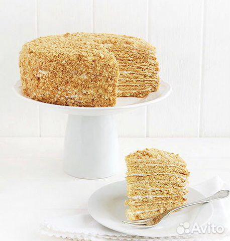 Домашний медовый торт  89963374472 купить 1