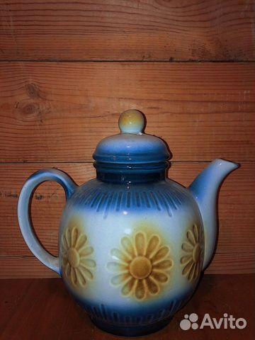 Чайник Старинный/Раритет/Керамика  89064091597 купить 1