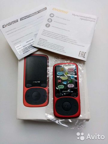 Mp3 плеер Digma B3  89201198431 купить 1