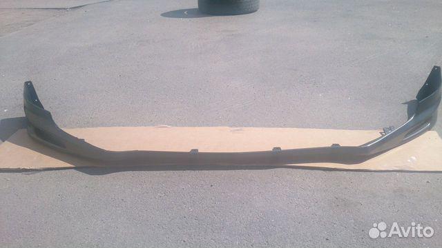 Юбка переднего бампера хонда