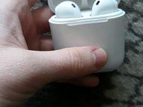 Беспроводные блютус наушники apple(неоригинальные)