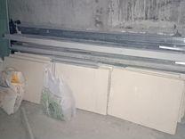 Блоки для перегородок + дверь+подоконники