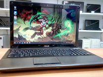 Ноутбук Asus Мощный, Игровой на i5 с GeForce 2Gb