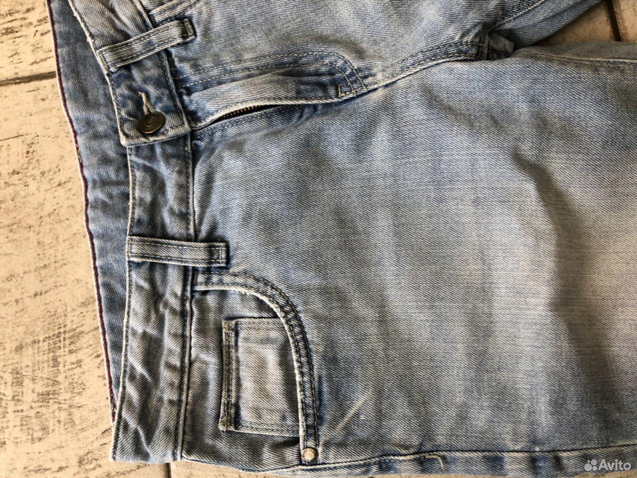Шорты джинсовые на мальчика разм.152  89648893948 купить 2