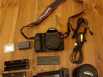 Canon EOS 40d body с батарейным блоком C30DS grip