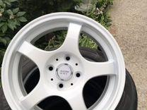 Новые белые диски r15