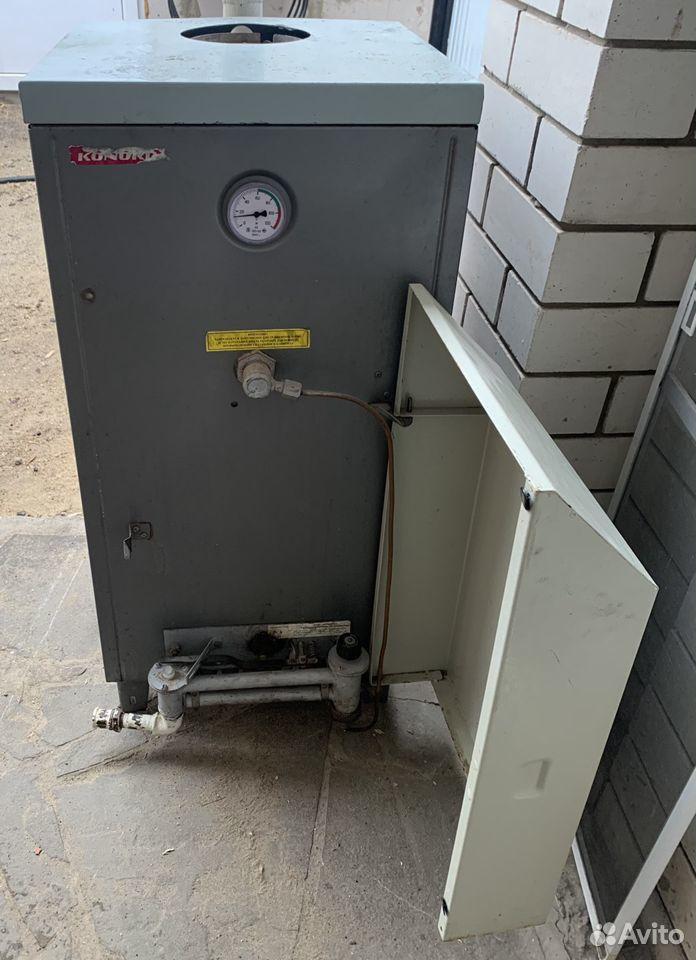 Газовый котел и чугунные радиаторы
