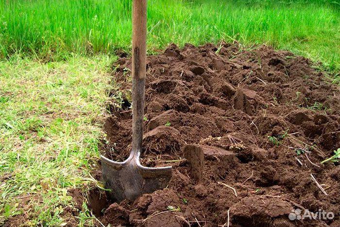 Земельные работы, копка вручную