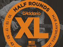 Комплект струн D'Addario EHR340 Half Round