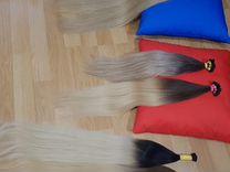 Южно-русские и славянские волосы на капсулах