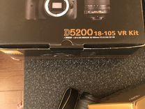 Nikon 5200d 18-105 VR Kit