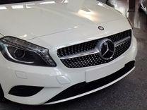 Решетка Diamond Sport Mercedes C205 Coupe серебро