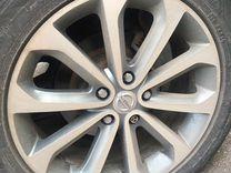 Оригинальные диски Nissan R18 с резиной