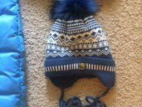 Комбинезон зимний +шапка