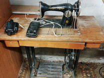 Швейная машина Подольск с электроприводом