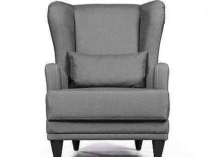 Кресло Juliet рогожка серый
