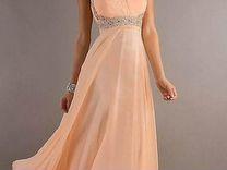 Шикарное платье в пол новое