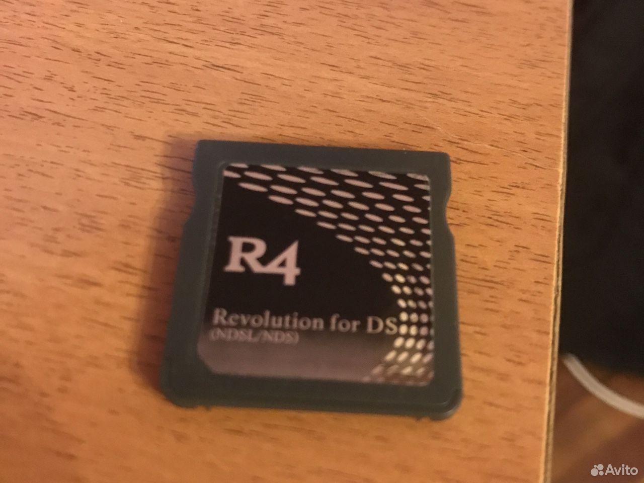 R4 картридж для Nintendo ds