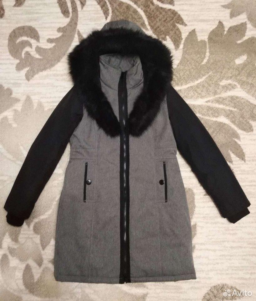 Пальто куртка зимняя  89537041686 купить 1