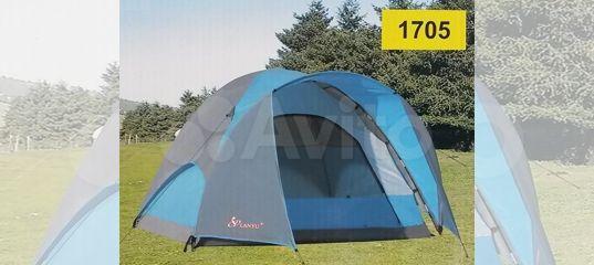 Палатка туристическая трехместная 220х220 новая купить в Москве   Хобби и отдых   Авито