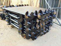 Винтовые сваи D 60-133мм толщиной стенки 3.5-6.5мм