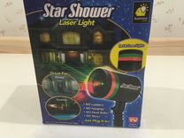 Laser shower star Лазерный проектор