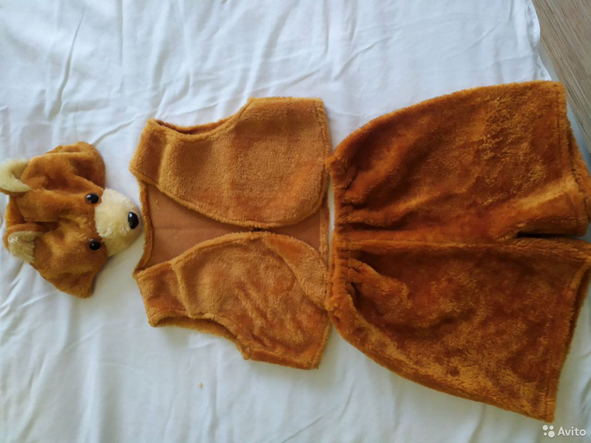 Новогодний костюм медвежонка