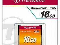 Карта CF Compact Flash Transcend 16 gb (133x)