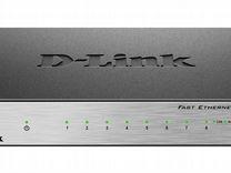 Коммутатор D-link DES-1008D/L2B новый