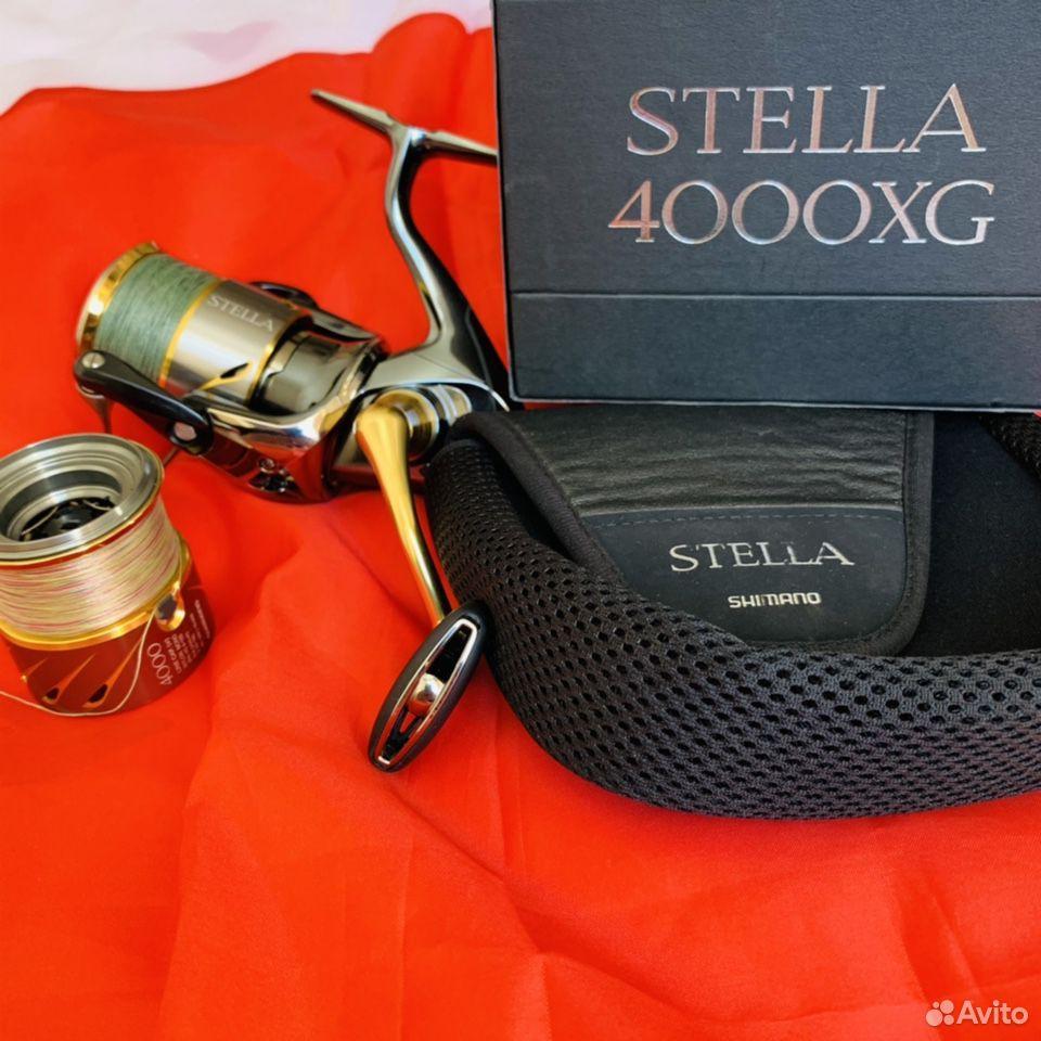 Катушка shimano 14 stella 4000xg  89140294950 купить 2