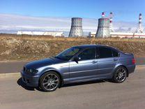 Задний бампер BMW E46 седан