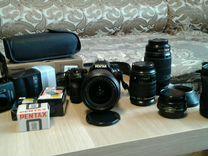 Фотоаппарат pentax к-5 с обьективами