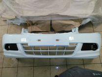 Ниссан Алмера G15 - бампер белый новый