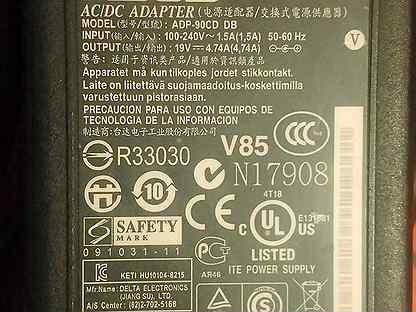 Зарядное устройство для ноутбука asus ADP-90CD DB