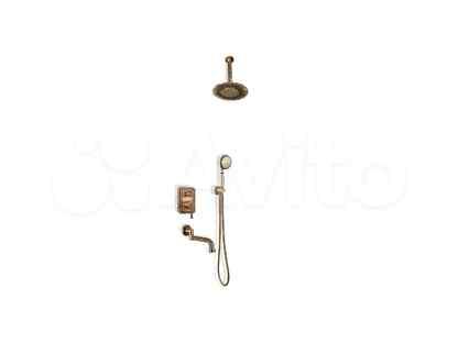 Душевой гарнитур Bronze de Luxe 10137/1DF