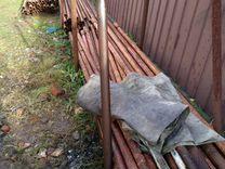 Хомутовые строительные леса бу - 500 м.кв