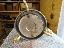 Спиртовка,бульотка,до 1917 года,клейма,чугун,латун
