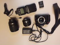 Nikon D5100 Kit nikkor 50mm 1.8 speedlight sb-700