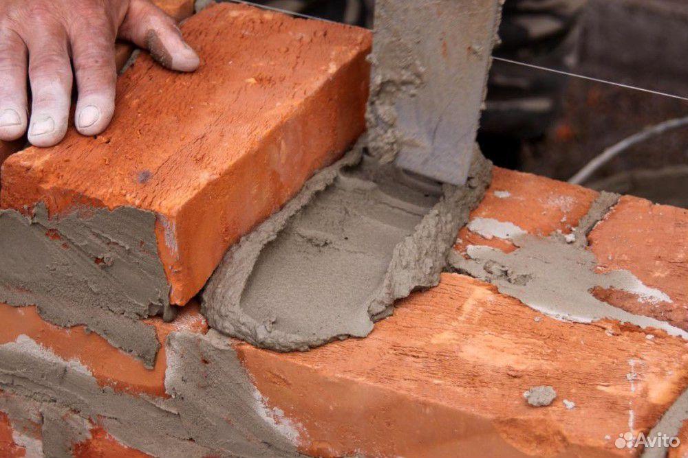 Кирпич фундаментный цемент