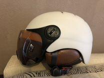 Шлем, Горнолыжные очки